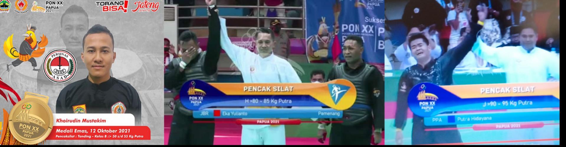 Selamat & Sukses Atlit PERSINAS ASAD peraih Emas PON PAPUA 2021